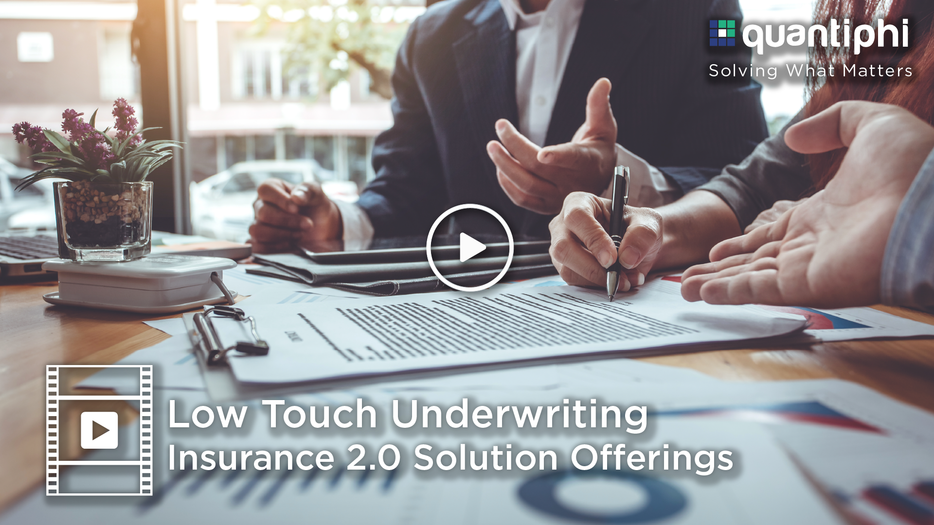 Insurance 2.0: Low Touch Underwriting