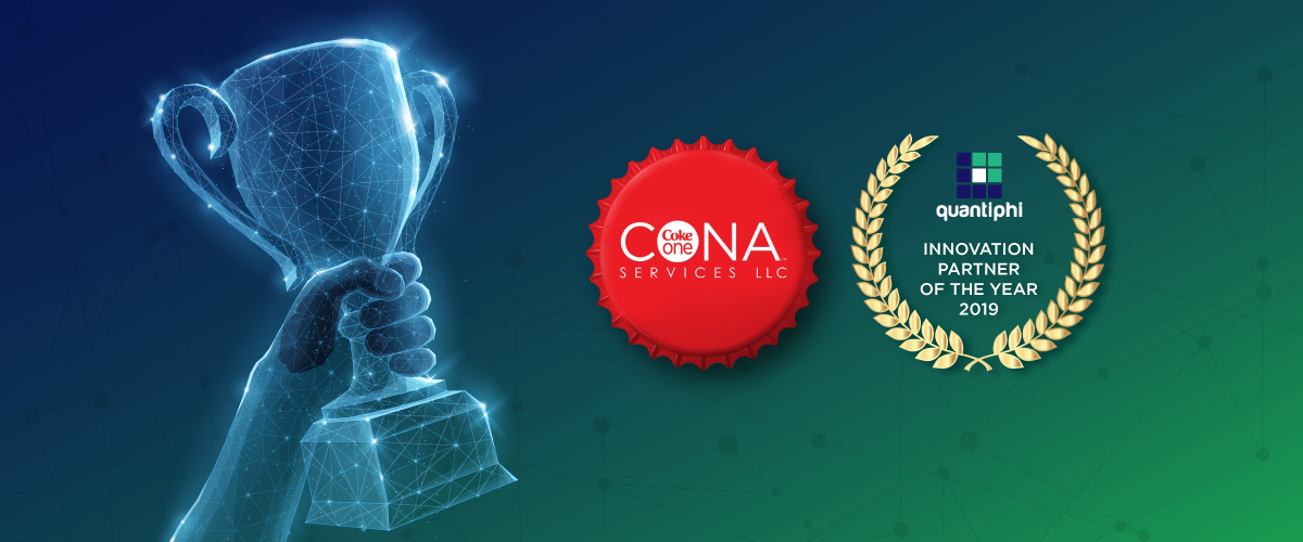 Quantiphi Awarded Coke One North America (CONA) Innovation Partner of the Year 2019