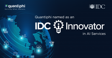 Quantiphi Named as an IDC Innovator in Artificial Intelligence Services