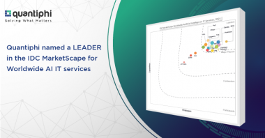 Quantiphi Named a Leader in the IDC MarketScape Worldwide Artificial Intelligence IT Services, 2021