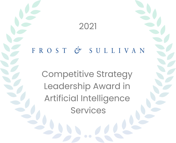 Quantiphi Receives Frost & Sullivan's 2021 North America Competitive Strategy Leadership Award in AI Services in the Public Sector